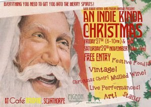 An Indie Kinda Christmas @ Cafe Indiependent | Scunthorpe | United Kingdom